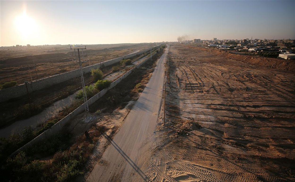 GAZA bufferzone ANP