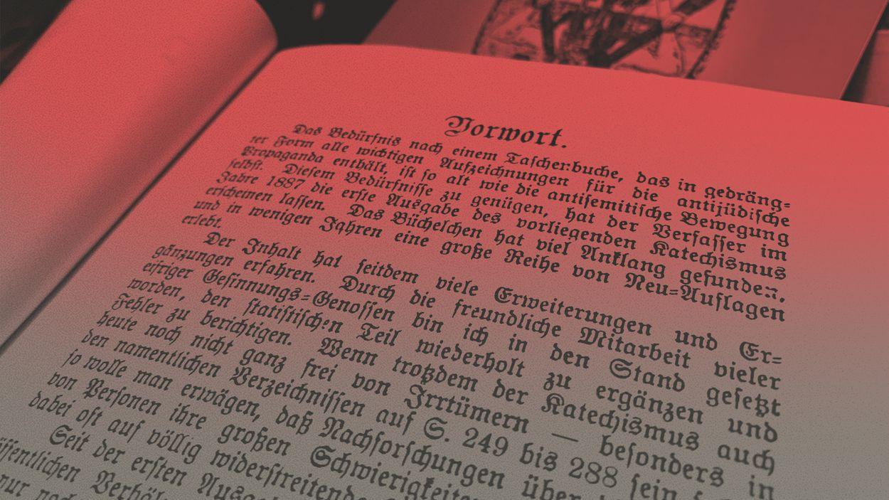 Afbeelding van De boekenkast van extreemrechts