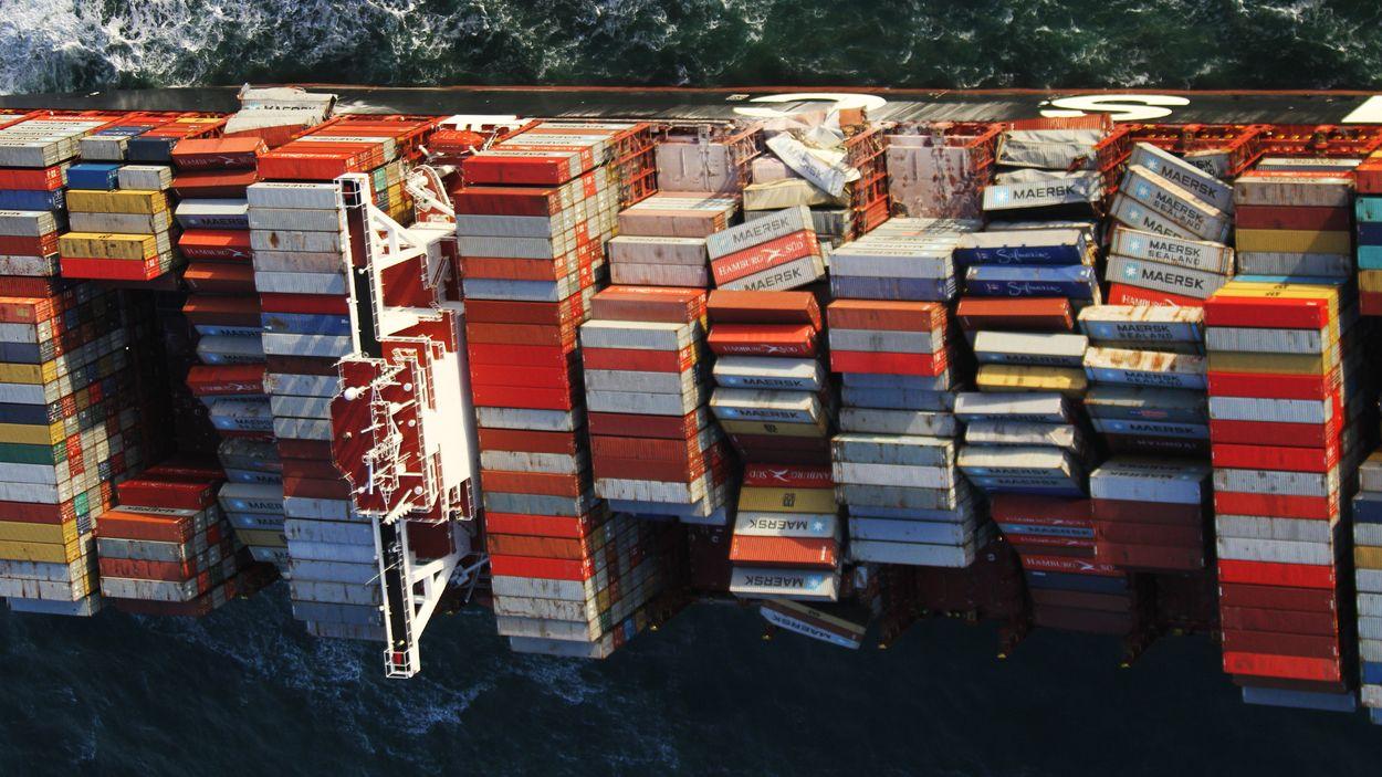 Afbeelding van Experts: 'Ramp met schip MSC Zoe kan morgen weer gebeuren'