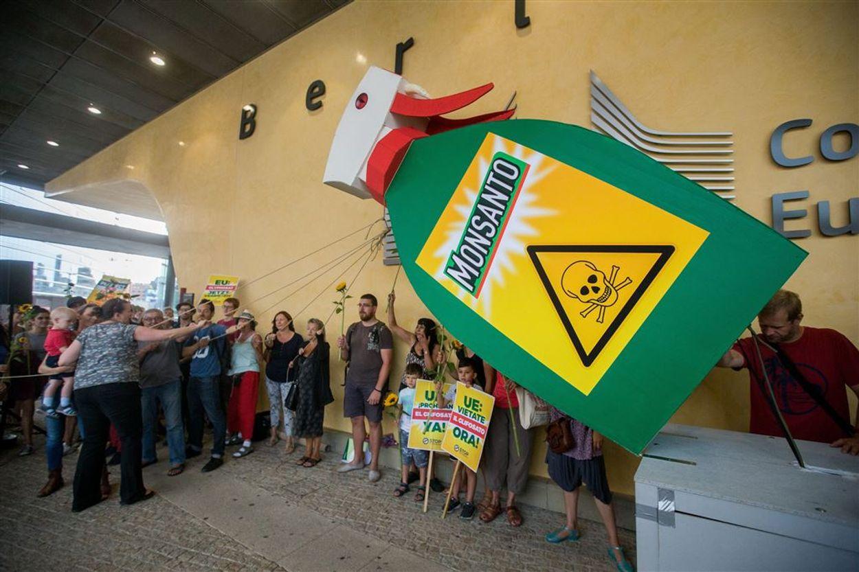 ANP Monsanto protest