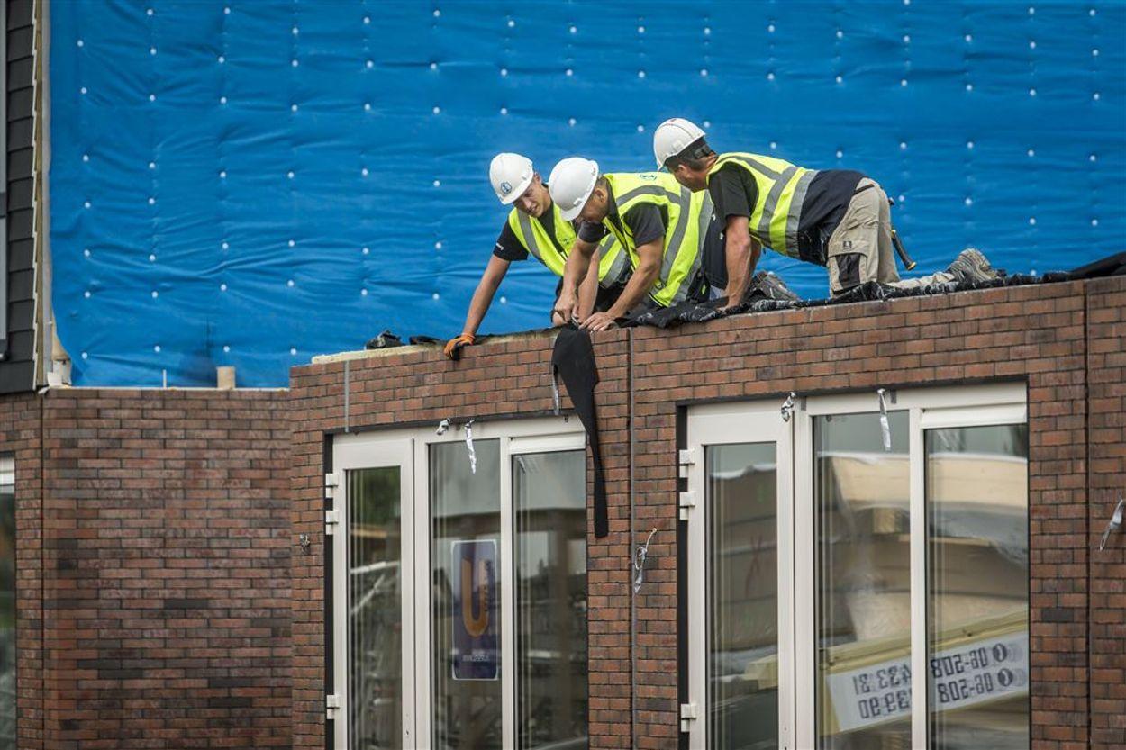 Woningstress bouwvakkers