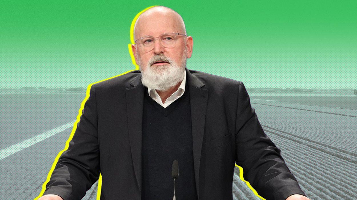 Afbeelding van Eurocommissaris Timmermans roept Rabobank op af te boeken op leningen intensieve landbouw