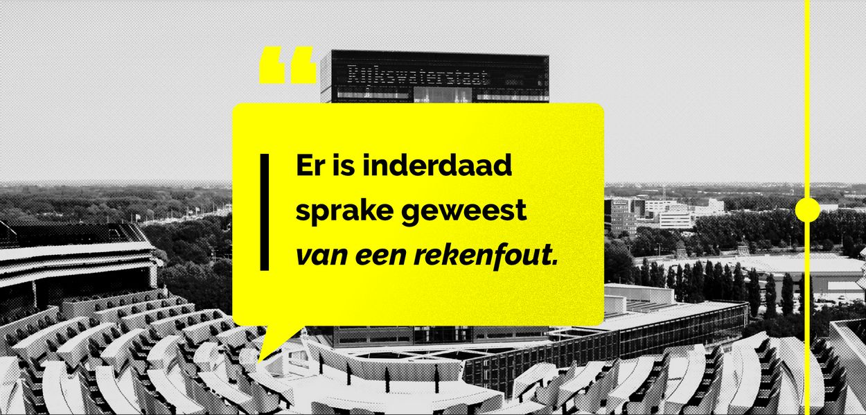 Quote fout Rijkswaterstaat