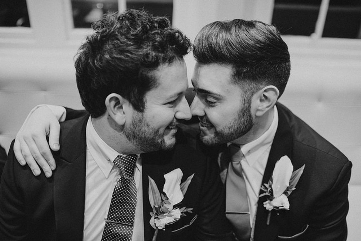 Gay marriage Flickr.com/Blavou wedding photographer
