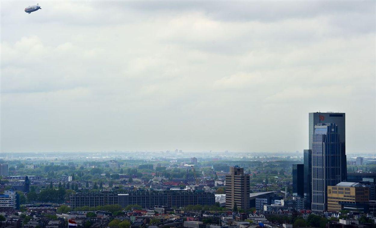 Lucht Rotterdam ANP