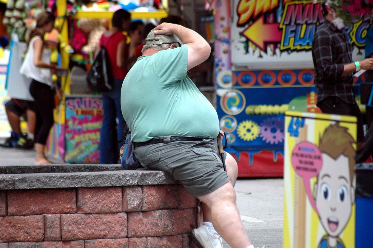 Overgewicht - grote foto