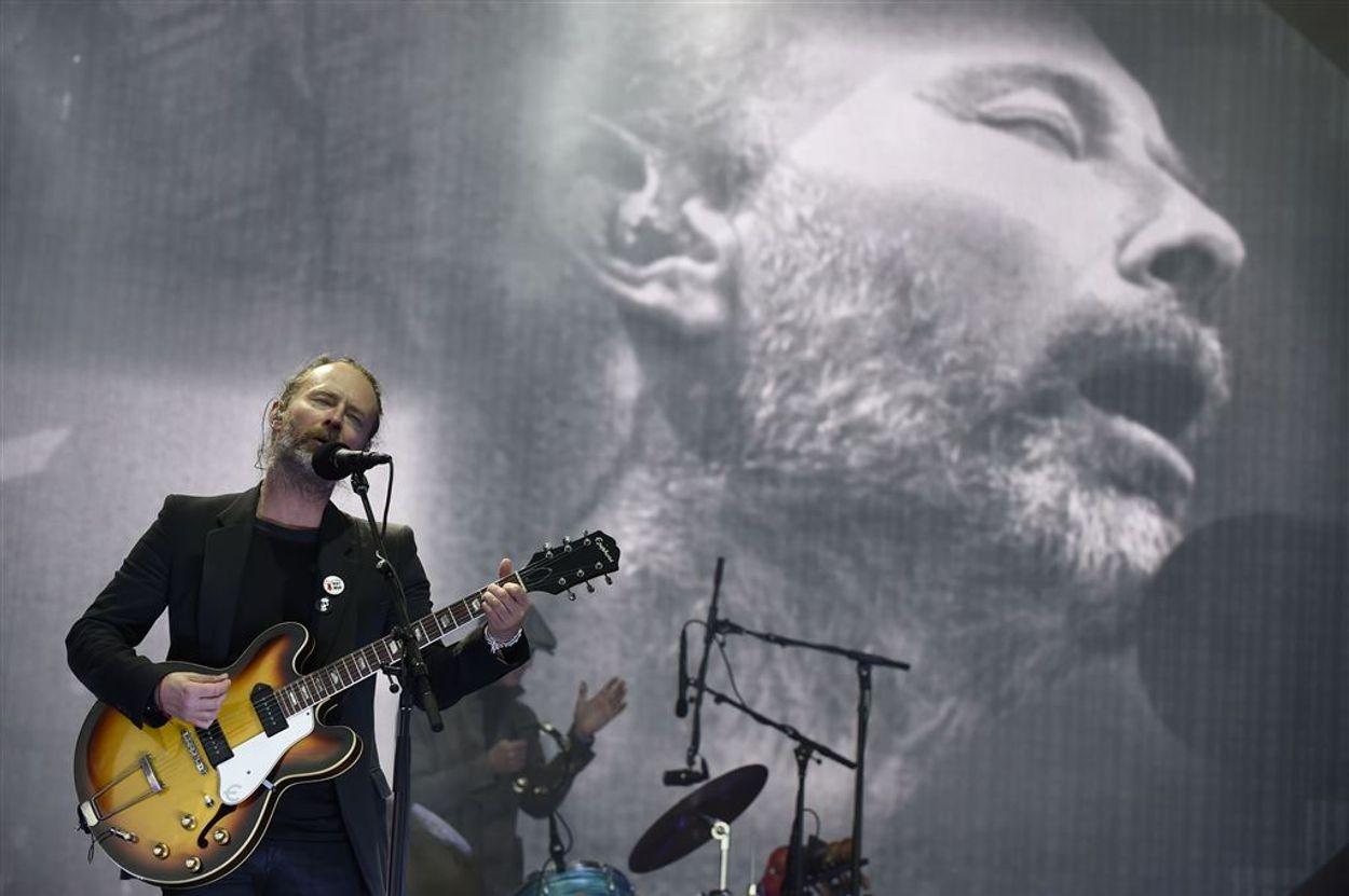 Afbeelding van Radiohead stuit op wereldwijde kritiek vanwege Israël optreden