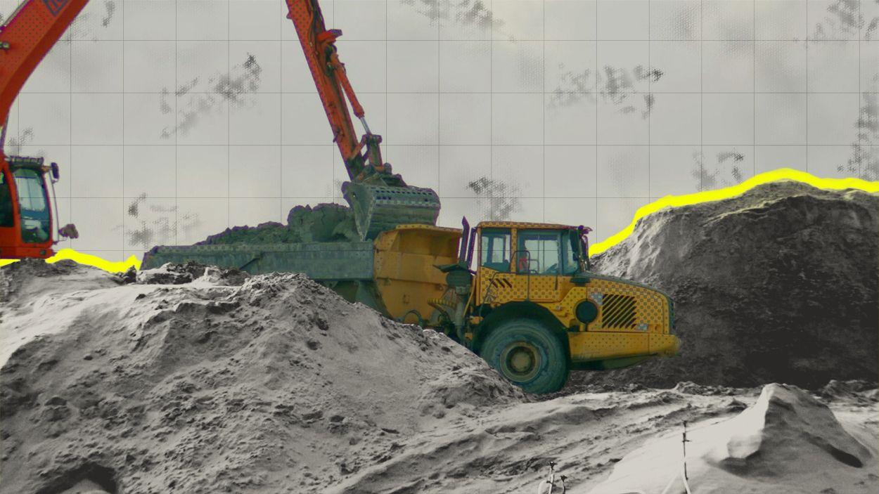Afbeelding van Bontrup weigerde steekproeven granuliet op eigen terrein