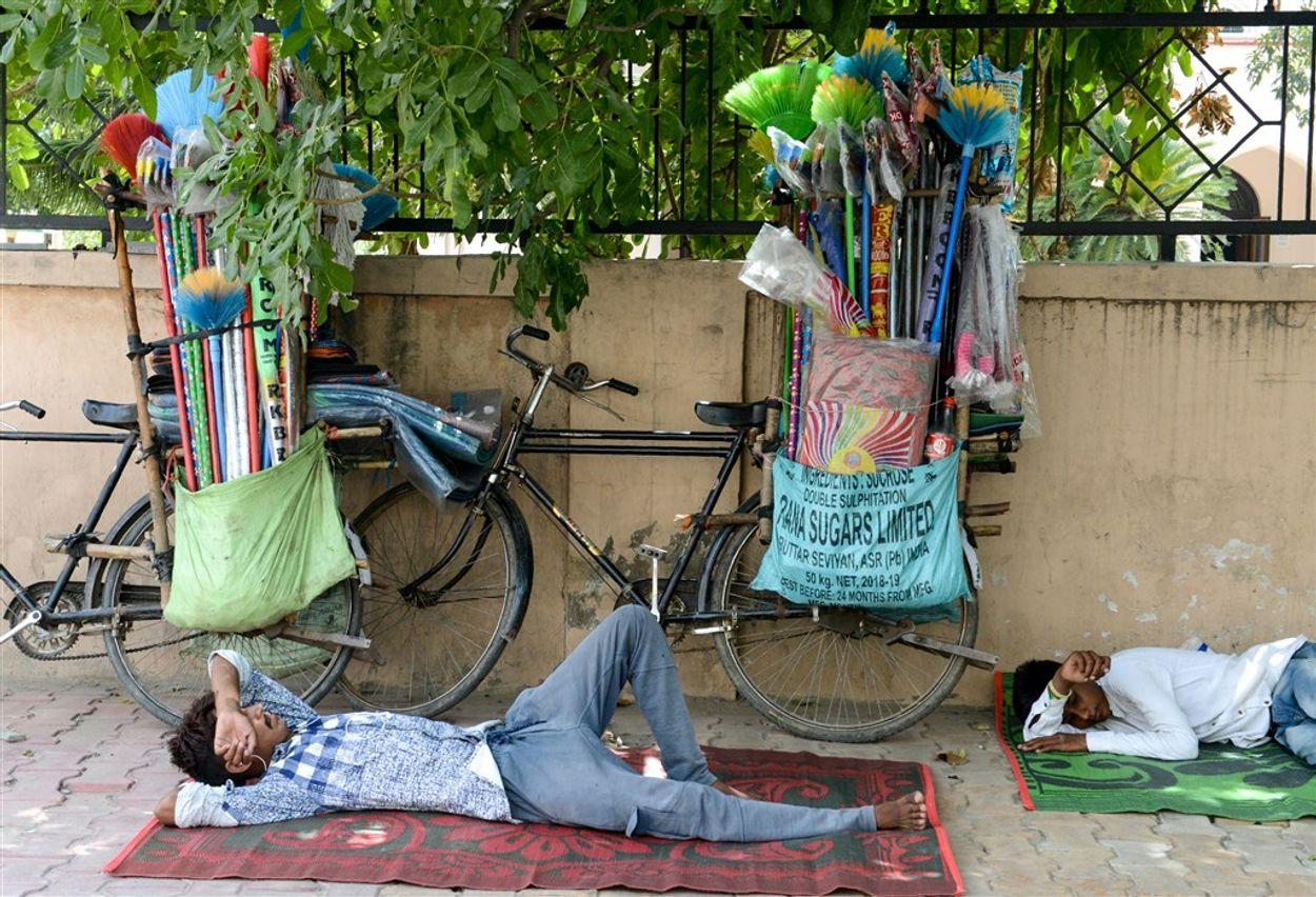 Afbeelding van 'Klimaatverandering verantwoordelijk voor heetste decennium ooit in India'