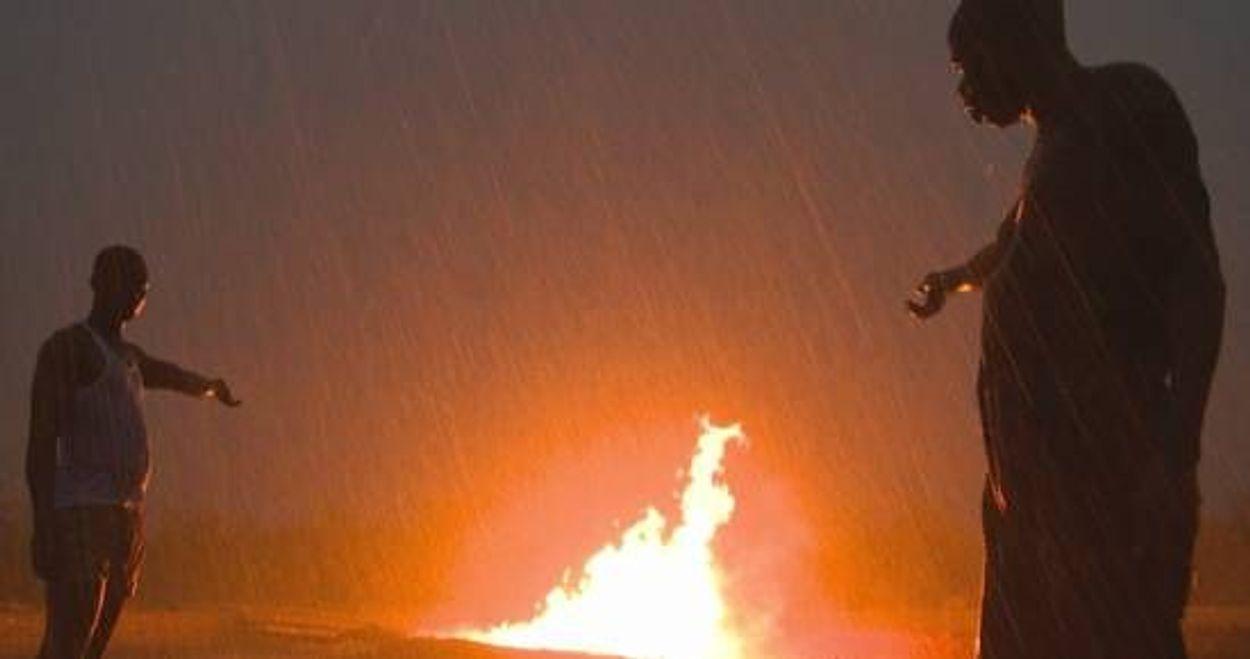 Afbeelding van Vuile olie van Shell