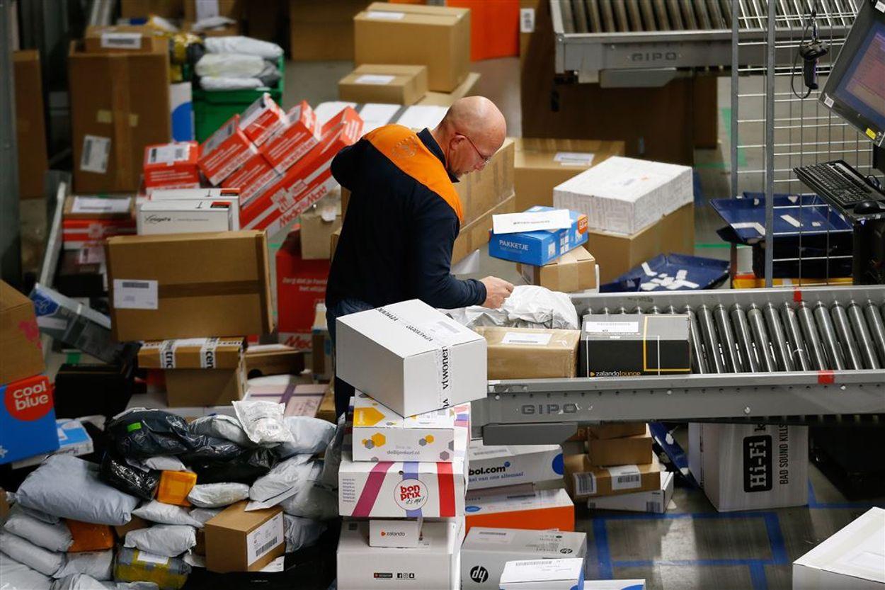 Post NL pakketten drukte ANP