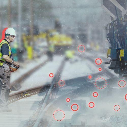 Afbeelding van Spoorwerkers jarenlang blootgesteld aan kankerverwekkend kwartsstof