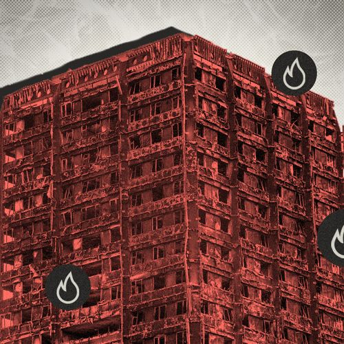 Afbeelding van Brandweer: brandtest voor gevels hoge gebouwen schiet tekort