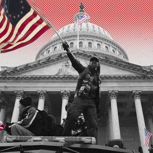 Afbeelding van De les na de Capitoolbestorming: 'Bagatelliseer rechts geweld niet'