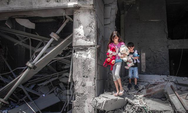 Afbeelding van 42.000 Palestijnen uit huizen gevlucht in Gazastrook